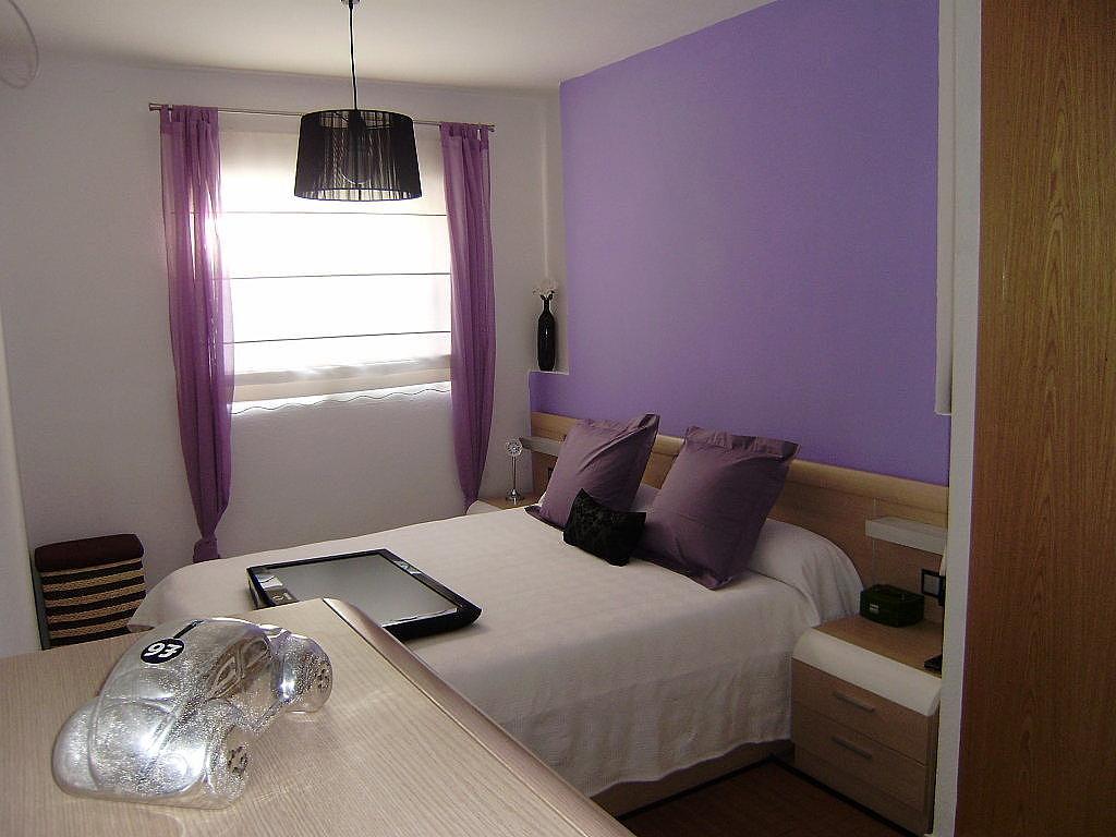 Color cortinas y tipo para combinar pared morada muebles - Combinar colores paredes y muebles ...