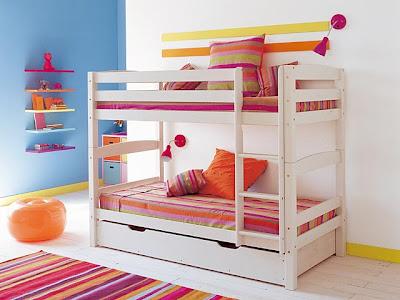 Camas dormitorios infantiles que ahorran espacio deco ideas - Precios de literas para ninos ...
