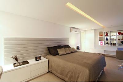 Decoracion de dormitorio matrimonial moderno diseno de - Dormitorio matrimonial moderno ...
