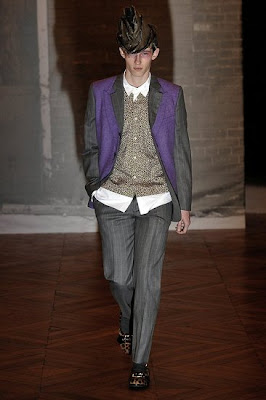 Teddy Boy Look; Commes des Garcon, Winter 2009