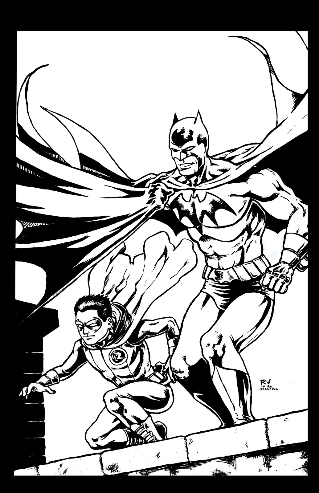 cool robin coloring pages - photo#38