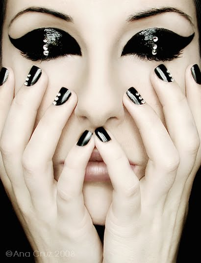 Calebrities BlackNail Art-1