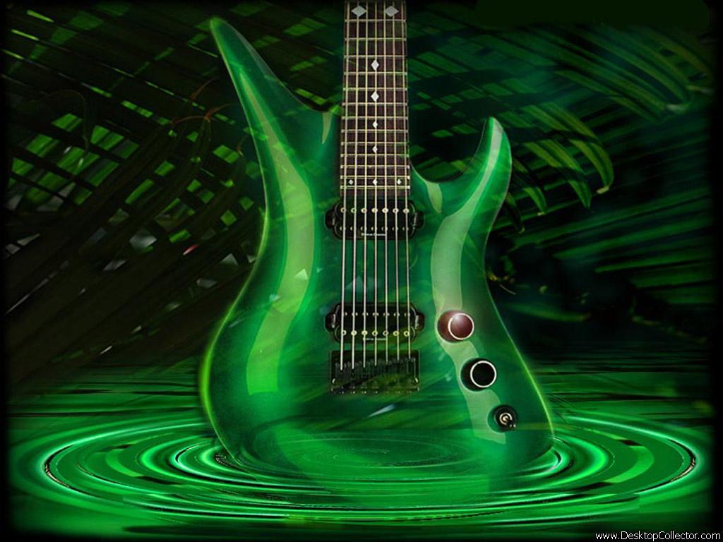 3d Musics Guitar Backgrounds: Fondos De Pantalla En 3D