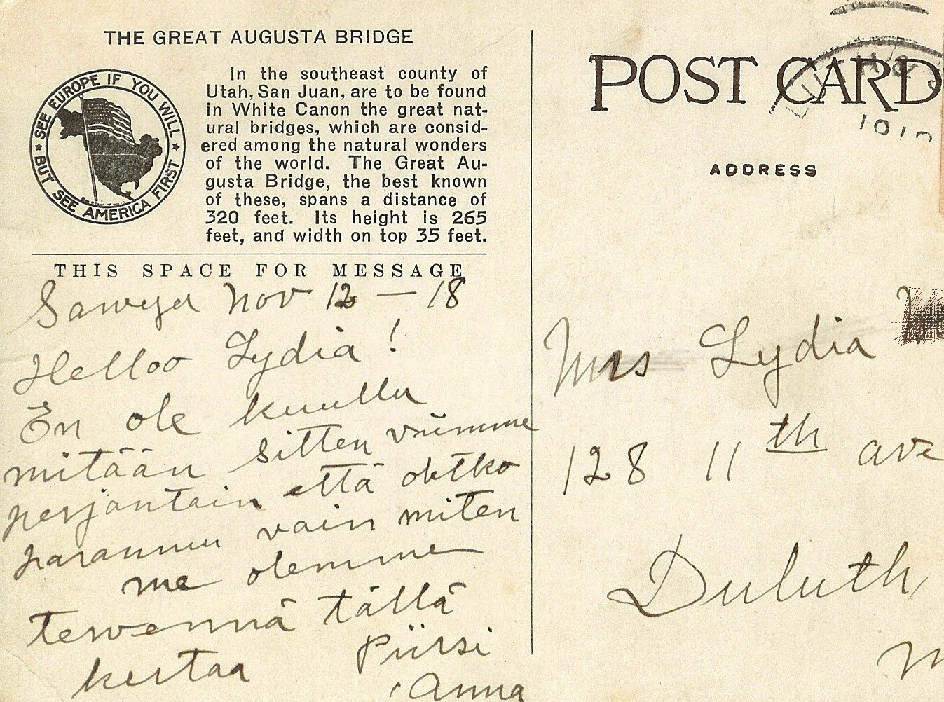 Writerquake: Old Postcard Wednesday--The Elephant Tree at