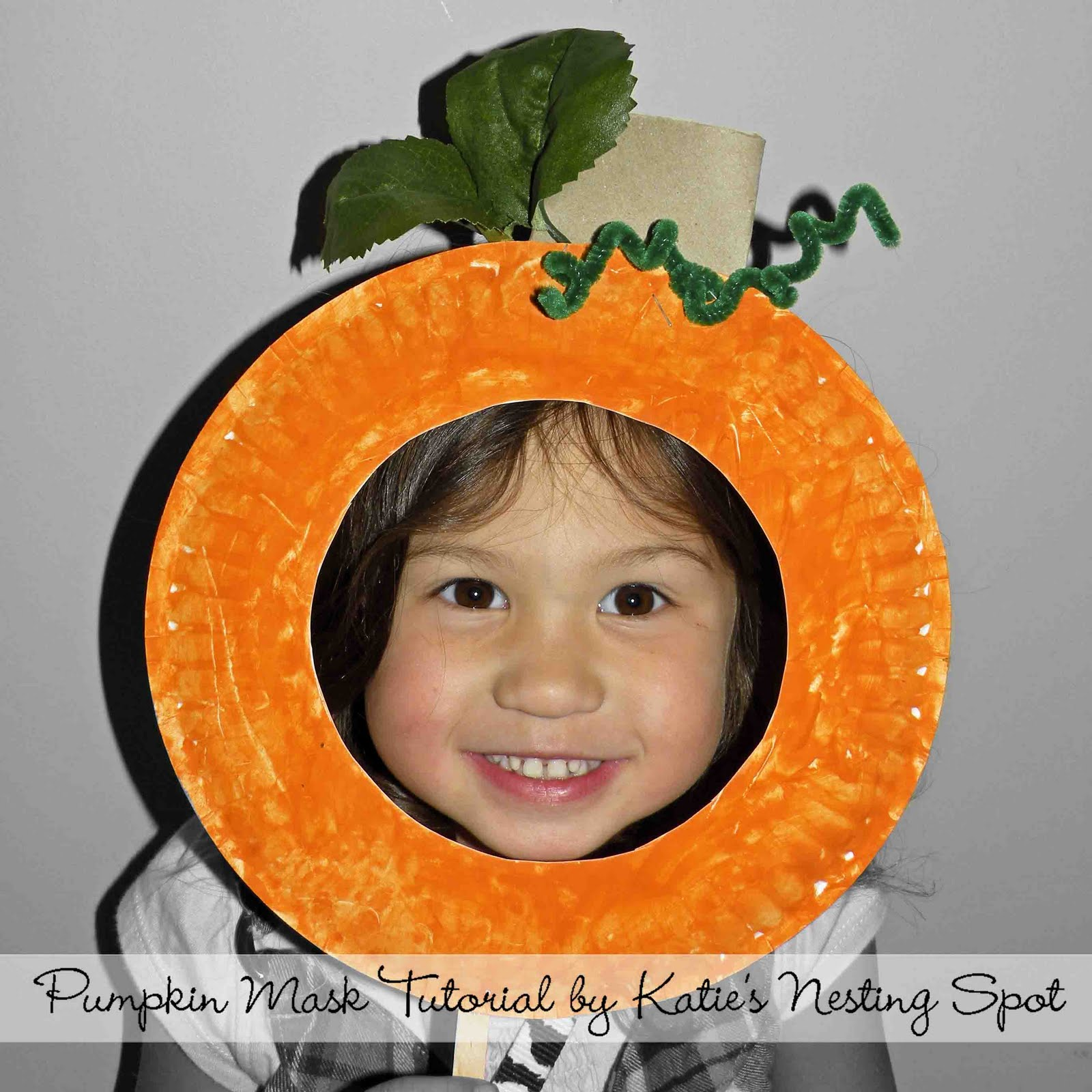 Be Brave Keep Going Pumpkin Paper Plate Craft For Kids