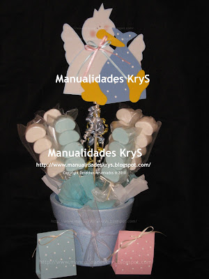 Manualidades Krys Centros De Mesa Y Recuerdos Para Baby Shower