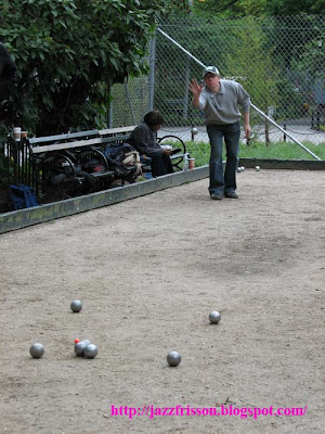 New York Greenwich Village Washington Square Park Petanque