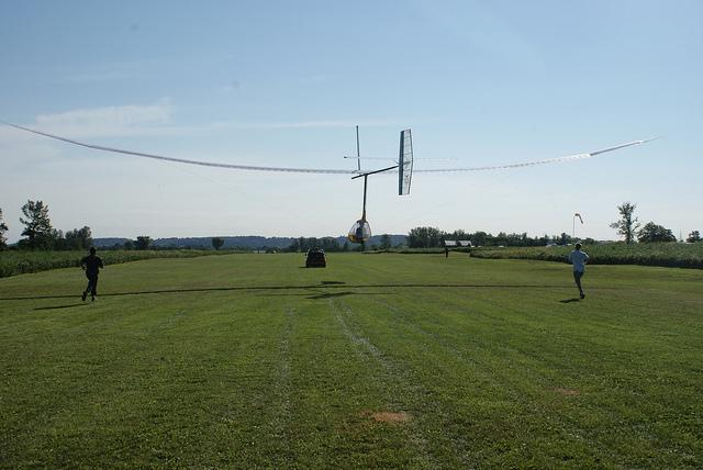 human powered wing flapping aircraft