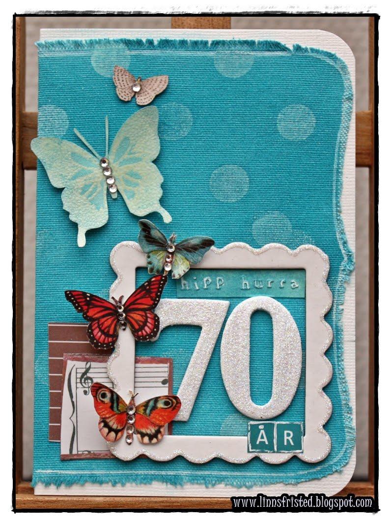 70 års dag TreL blogger også: Canvas Kort   70 års dag 70 års dag