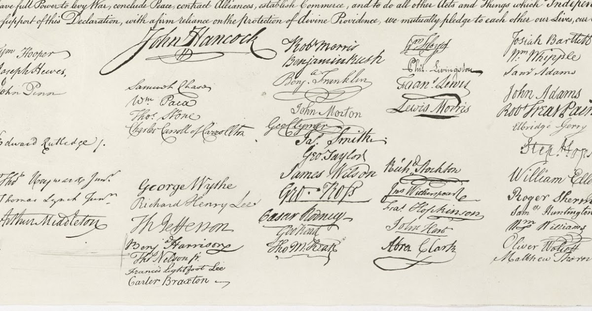 The Original Version of the Declaration of Independence