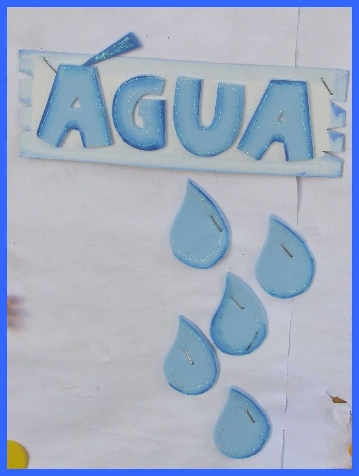Atividades escolares mural em e v a para o dia do meio for Mural sobre o meio ambiente