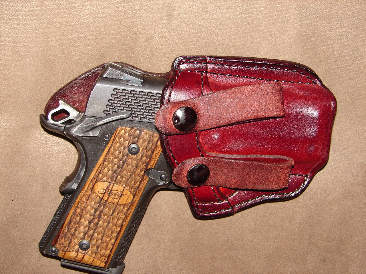 My Tumultuous Adventure: New holster review