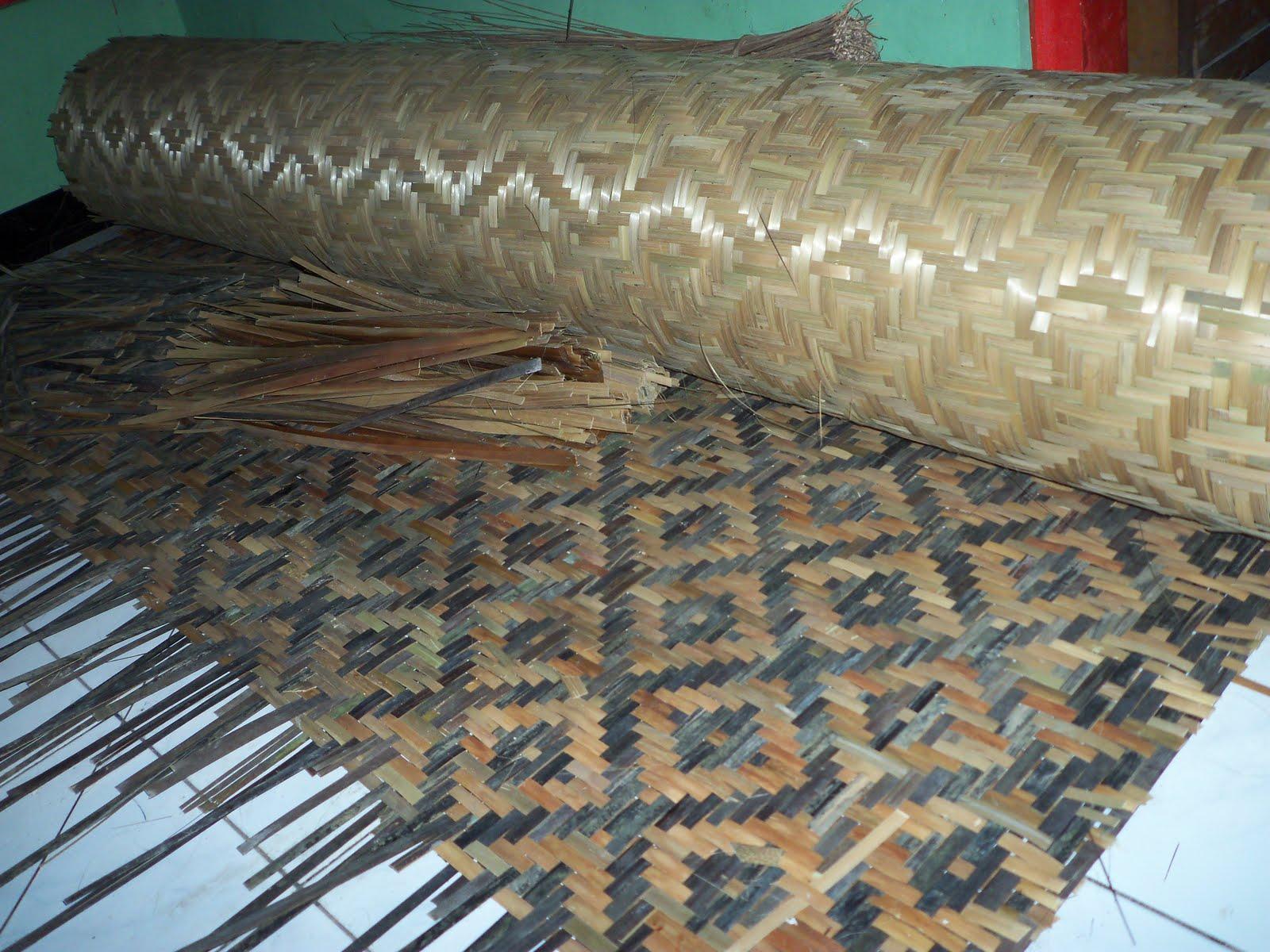 Gambar Rumah Dinding Anyaman Bambu - Gambar Con