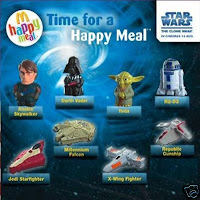 PLAY AGAIN TOYS!: McDonalds Clone Wars Happy Meal Toys