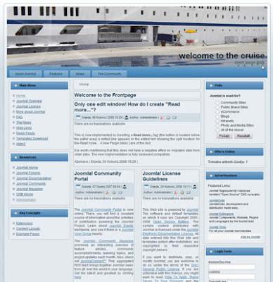 joomla 1.5 website template