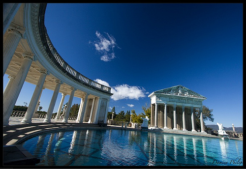 Living like movie stars hearst castle globally gorgeous - Hearst castle neptune pool swim auction ...