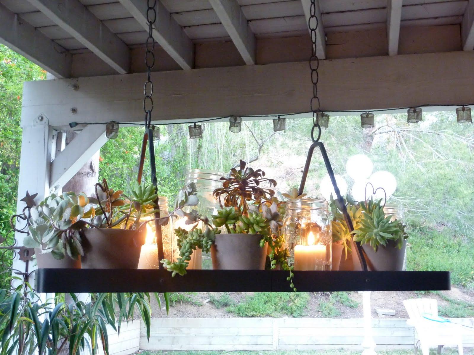 Diy Succulent Chandelier