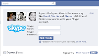 Skype from FaceBook