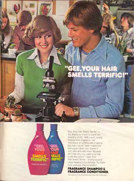S Hair Shampoo Beer 1970