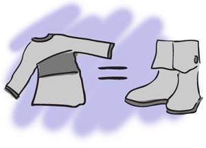 Como hacer unas Botas con estilo, con unos zapatos