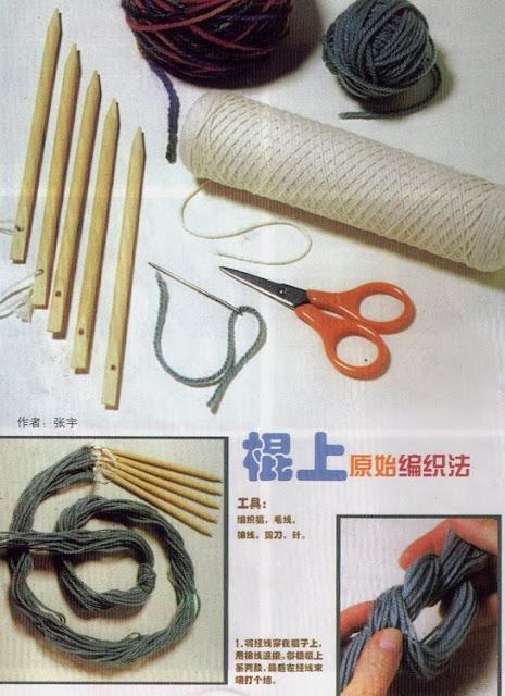 tejer, manualidades, telares, 5 agujas, labores