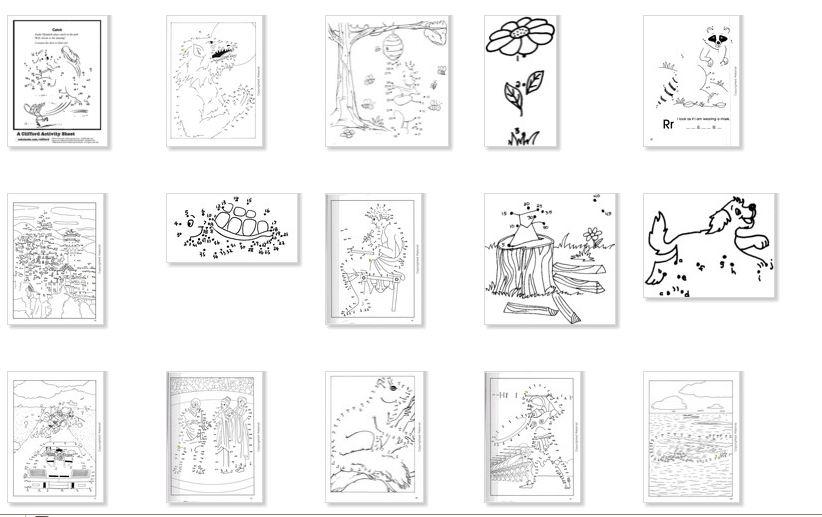 101 Plantillas Punteadas con Numeros para Dibujar