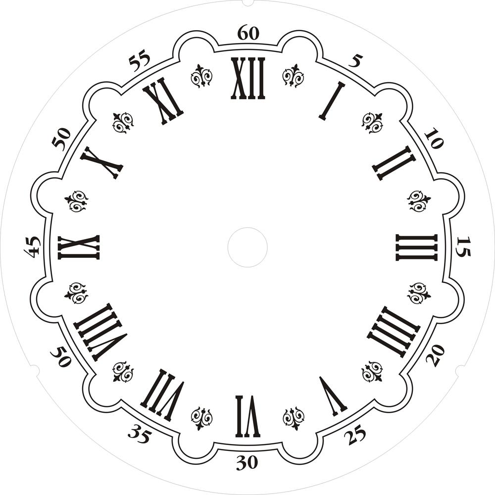 Plantillas para hacer Relojes de Pared