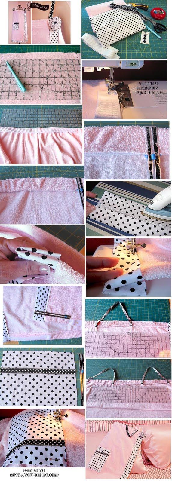 costura, albornoz, labores, patrones, tutoriales, vestido