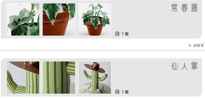 plantas de papel para construir, tronco de brasil en papel, recortables