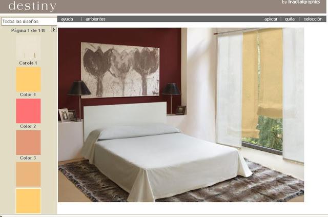 simuladores online, ambientes decoración, hogar, pintura