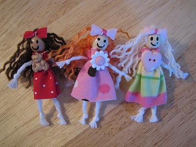 pasador, pelo, muñecas, infantil, manualidades