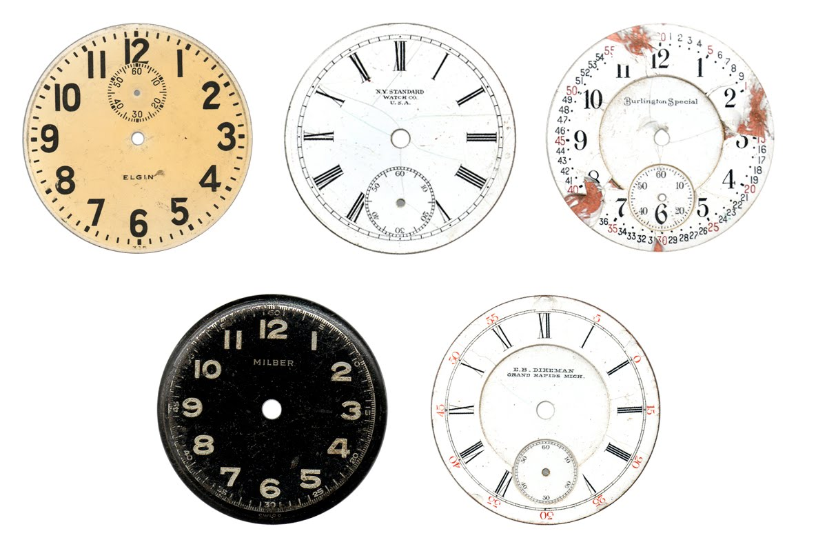 Enrhedando manualidades - Relojes de pared ...