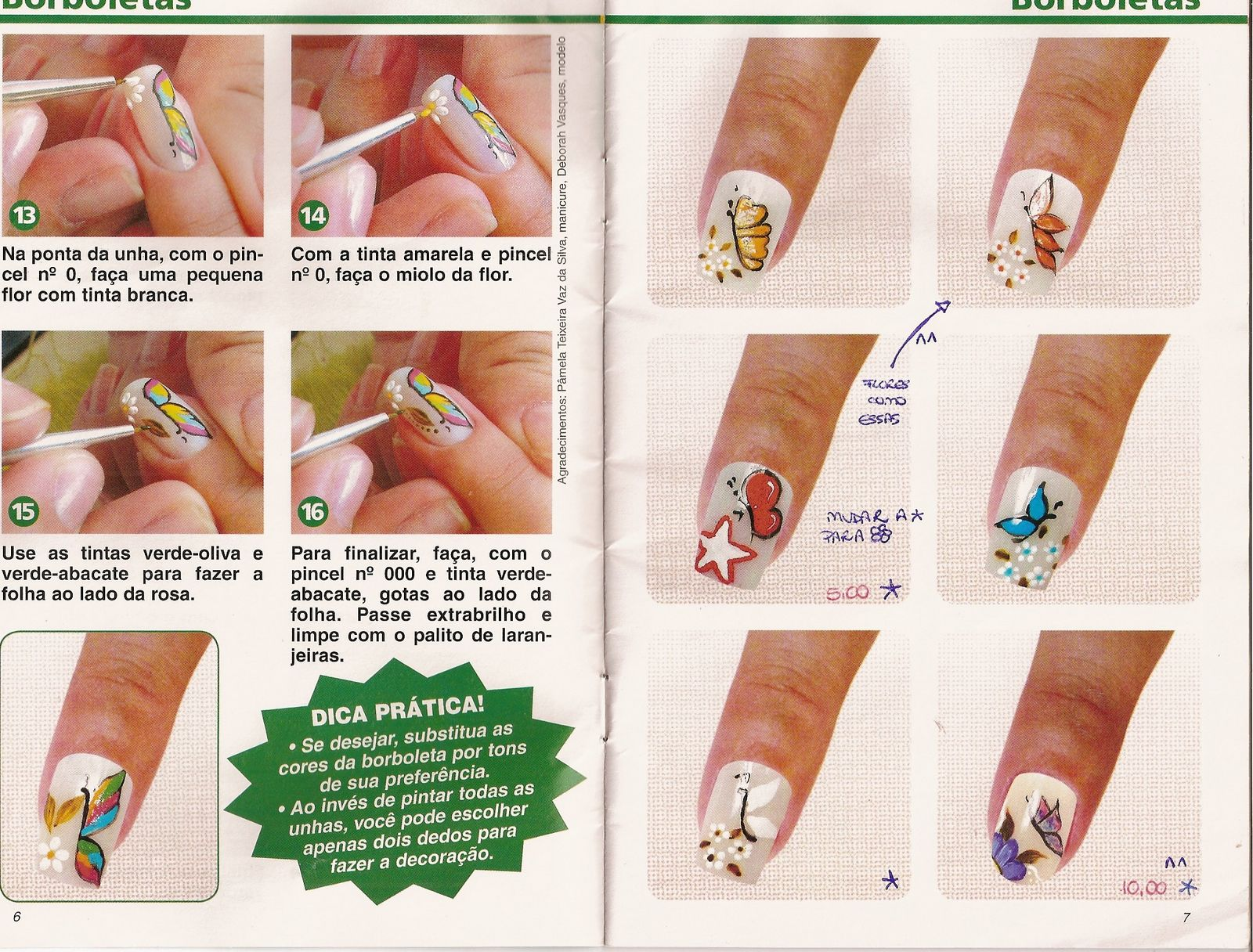 Uñas Decoradas Manos y Pies. Tutoriales, Revistas, VideosManicura