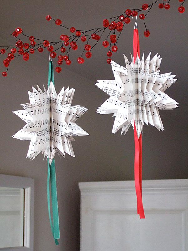 Enrhedando manualidades - Como realizar adornos navidenos ...