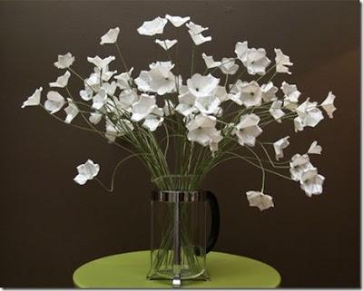 Como hacer un Ramo de Flores de Papel