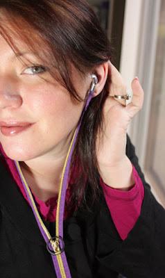 auriculares, cremalleras, forrar, enredos, música, podcast, dispositivos