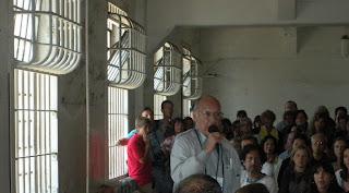 Darwin Coon - former Alcatraz prisoner speaking