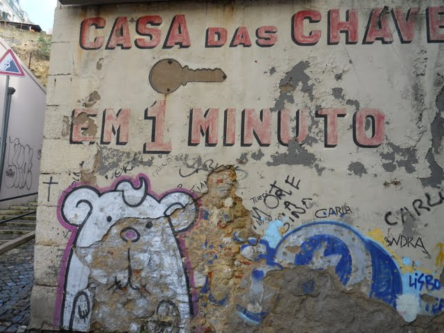 Why Lisbon Made me Nostalgic for San Francisco: Lisbon's Street Art