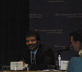 Neil DeGrasse Tyson at the Commonwealth Club in San Francisco