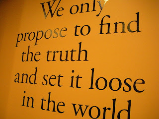 Quote on the wall of the Commonwealth Club in San Francisco