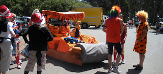 Flintstones at Bay to Breakers in San Francisco
