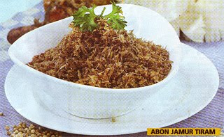 Abon Jamur Tiram