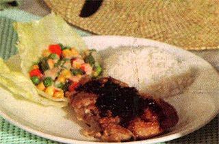 Crispy Chicken Teriyaki Caramel
