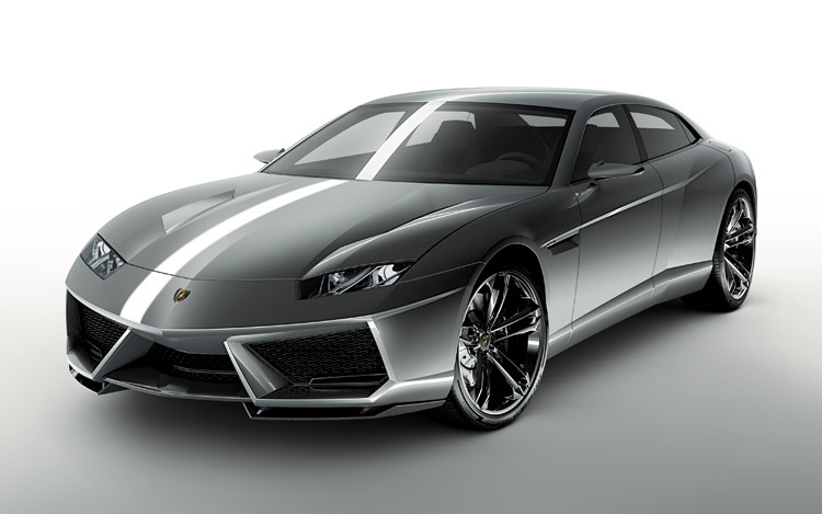 The New Lamborghini Has A 5 2 V 10 Engine And It Is Situated In Front Which Rare Trunk For Luggage Well Sedan So That