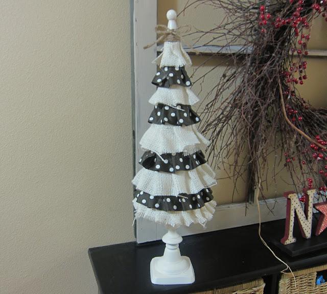 Under My Umbrella: The Ruffler & Christmas Trees