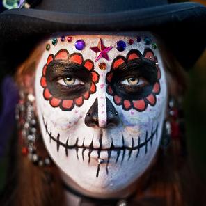 Style Inspirations: Dia de los muertos makeup