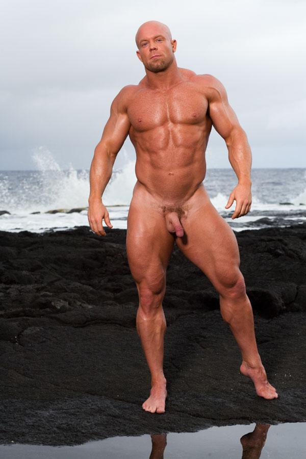 голые мускулистые мужики на сцене мужчина