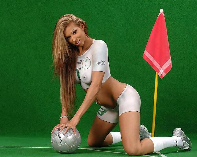 Body Paint Soccer Women