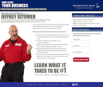Minutesmatter Jeffrey Gitomer Presents FREE Live Webinar