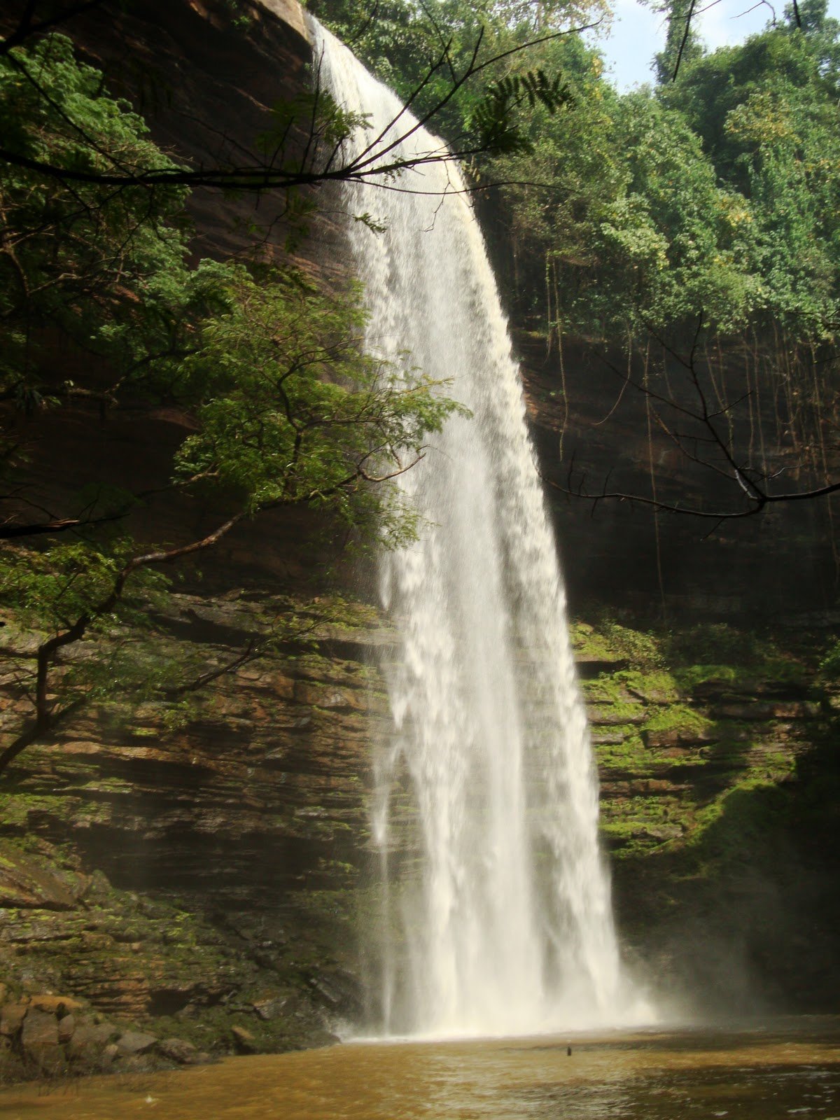 Footprints Across Africa Umbrella Rock Amp Boti Falls